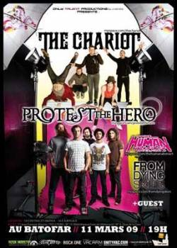 The Chariot + Protest the Hero