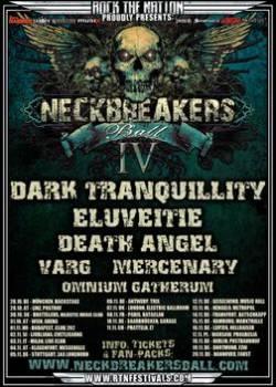Dark Tranquillity + Eluveitie + Death Angel + Varg + Mercenary + Omnium Gatherum