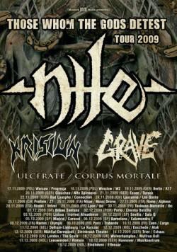 Nile + Grave + Krisiun + Ulcerate + Corpus Mortale