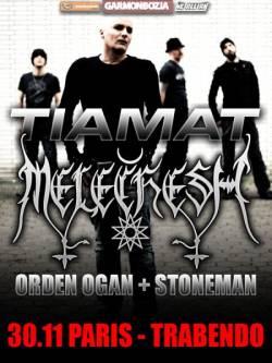 Tiamat + Melechesh + Orden Ogan + Stoneman