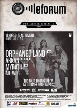 Orphaned Land + Arkan + Myrath