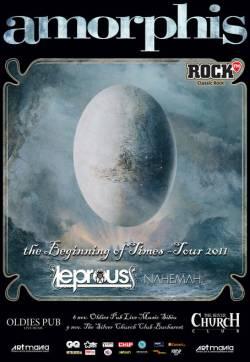 Amorphis + Leprous + Nahemah