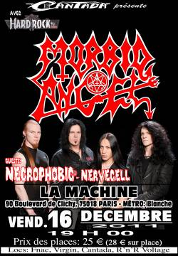 Morbid Angel + Necrophobic + Nevercell