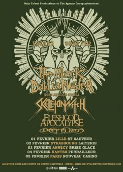 The Black Dahlia Murder + Skeletonwitch + Fleshgod Apocalypse