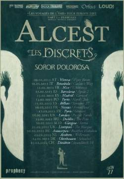 Alcest + Les Discrets + Soror Dolorosa