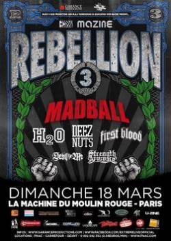 Madball + H2O + Deez Nuts + First Blood + Devil In Me + Strength Approach
