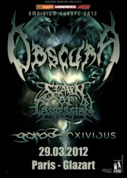 Obscura + Spawn Of Possession + Gorod + Exivious