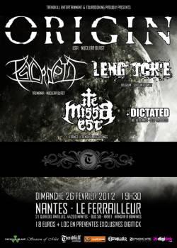 Origin + Psycroptic + Leng Tch'e