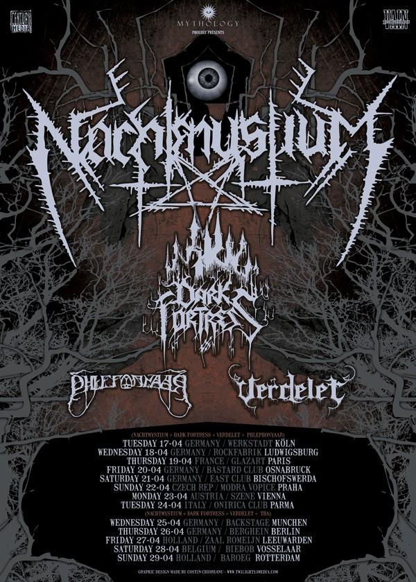 Nachtmystium – Live @ Glaz'art 19 avril 2012
