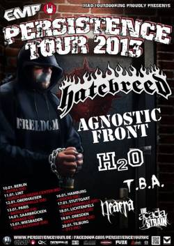 Hatebreed + Agnostic Front + Ignite