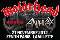 Motorhead + Anthrax