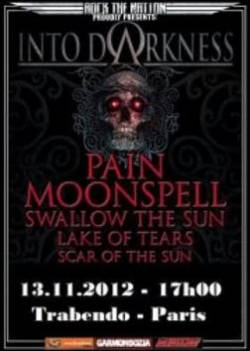 Pain + Moonspell + Swallow The Sun + Lake Of Tears