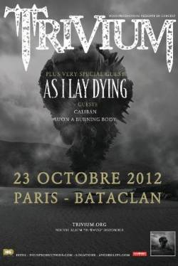 Trivium + As I Lay Dying + Caliban