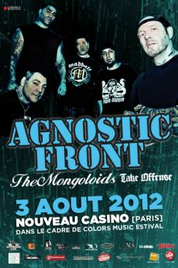 Agnostic Front + The Mongoloids + Take Offense