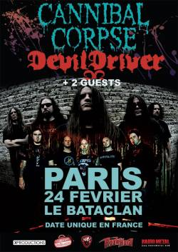 Cannibal Corpse + Devildriver