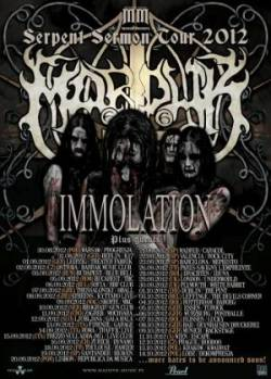 Marduk + Immolation + De Profundis + Soul Sacrifice + Forsaken World