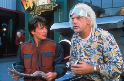Retour vers le futur - Doc & Marty