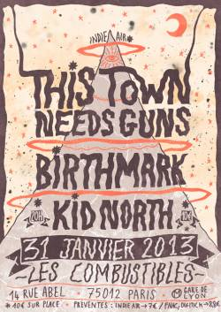 This Town Needs Guns + Birth Mark + Kid North
