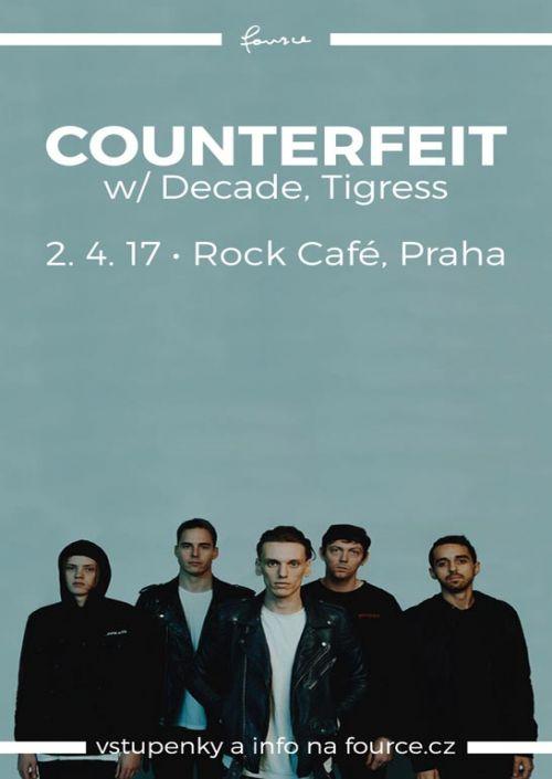 Live-report: Counterfeit/Tigress/Decade