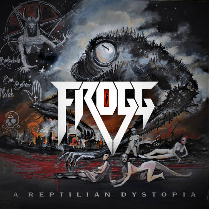 Frogg – A Reptilian Dystopia