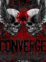 Converge + Integrity + Coliseum + Black Haven + Amen Ra – 21 juillet 2008 – Trabendo – Paris