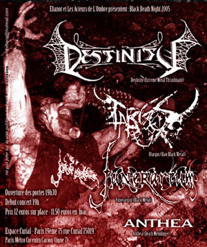 Destinity + Ortagos + Funerarium + Anthea - 25 novembre 2005 - Espace Curial - Paris