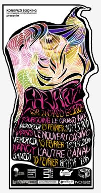 Earth + KTL + Sir Richard Bishop – 16 février 2008 – Nouveau Casino – Paris