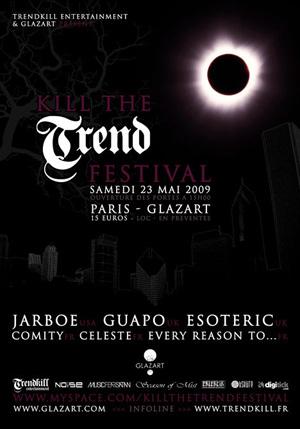 Jarboe + Esoteric + Comity +  Celeste - 23 mai 2009 - Glaz'art - Paris