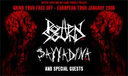 Rotten Sound + Sayyadina + Autist + FrrT - 24 janvier 2006 - Péniche Alternat - Paris